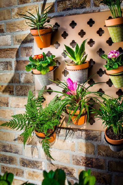 Verticale tuin kruidenrek voor verse kruiden