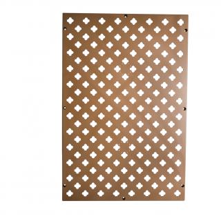 Verticale tuin rechthoekig paneel brons