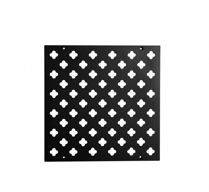 Verticale tuin paneel zwart